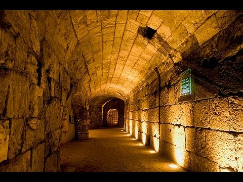 In the Footsteps of Jesus - The Western Wall Tunnels in Jerusalem