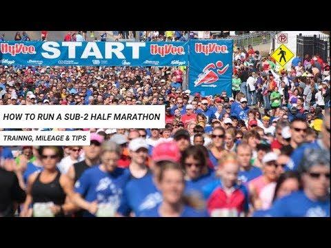Sub-2 Half Marathon: How to Break Two Hours in the Half Marathon ...
