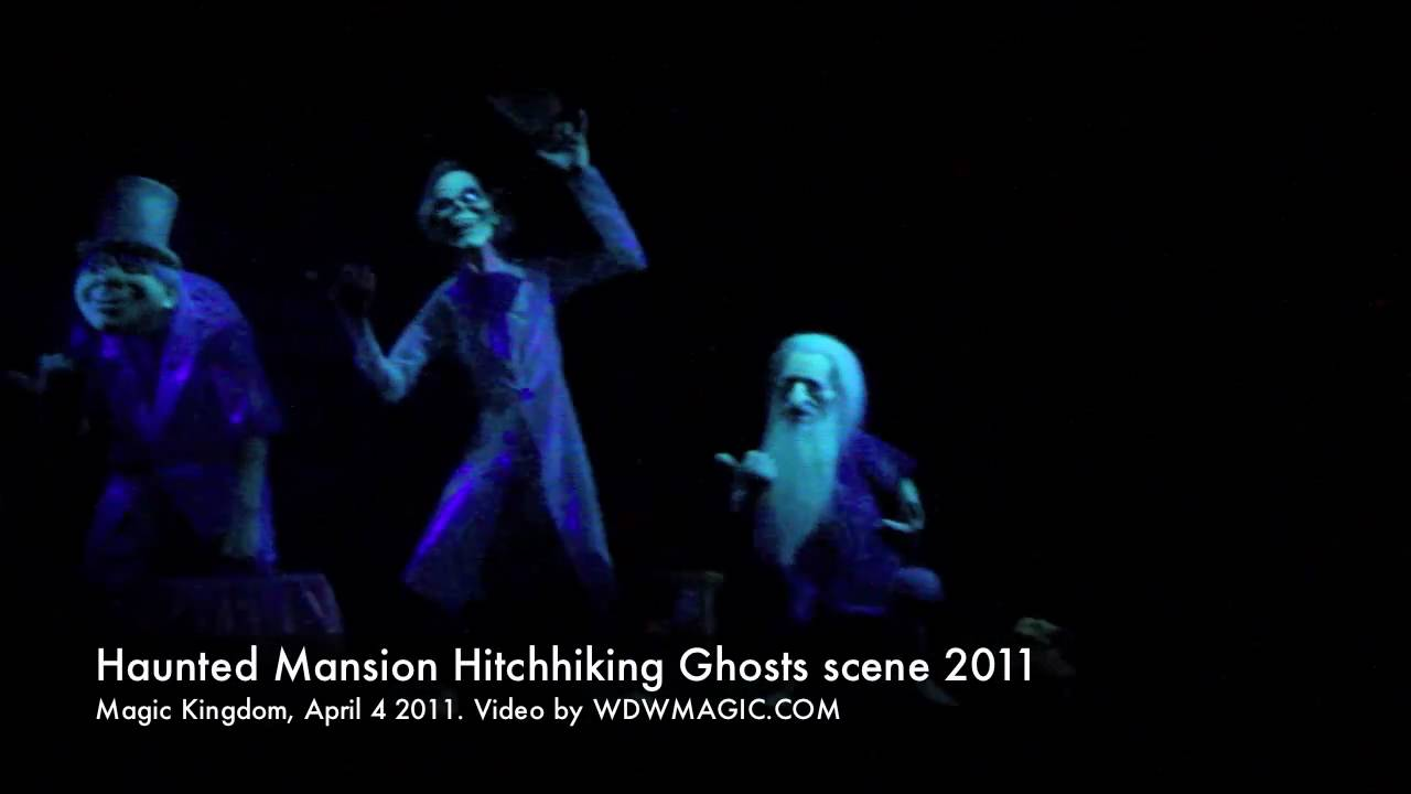 Haunted Mansion Hitchhiking Ghosts augmented reality