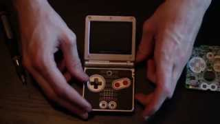 Gameboy Advance SP Screen Swap How To