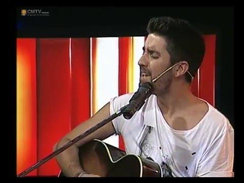 Alex Ubago video Aunque no te pueda ver - CM Estudio - 26-11-013
