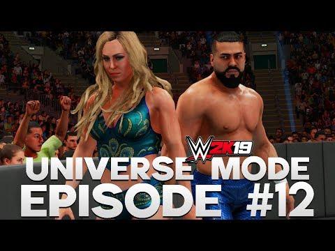 WWE 2K19 | Universe Mode - 'POWER COUPLE!' | #12
