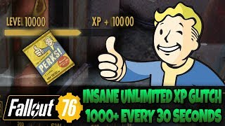 Fallout 76 - UNLIMITED XP Exploit! After Patch (In Depth