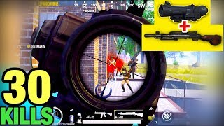 DP28 + 6x SCOPE | KING OF NO RECOIL | 30 KILLS SOLO VS SQUAD | PUBG MOBILE