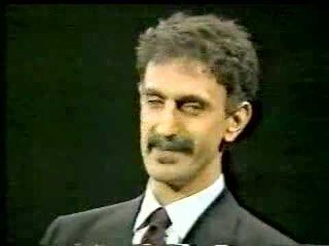 Frank Zappa on CNN's Crossfire in 1986