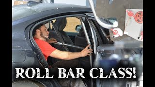 Roll Bar Class! Learn how to bend a 4 point roll bar for your car!