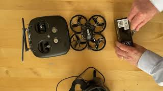GepRC Cinelog 25 HD - first days, unboxing, binding, flights, small crashes and a big one