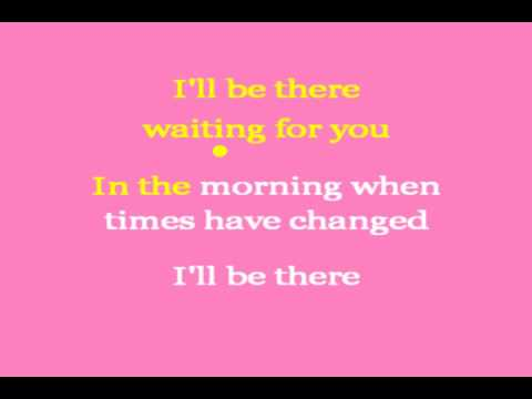 I Will Wait (karaoke) - in the style of Hootie and the Blowfish