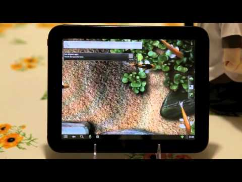 HP Touchpad - wifi, sound, accelerometer