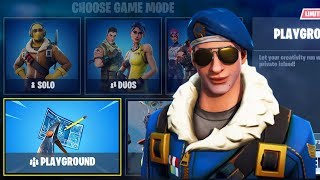 New Fortnite Update! Playground LTM (Coming Soon) - Fortnite Battle Royale Gameplay - PS4 PRO