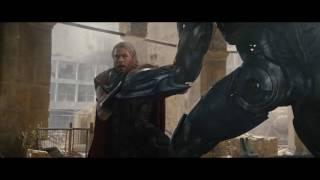 Avengers Age Of Ultron Escena Batalla Final Español Latino HD