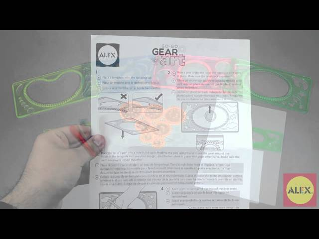 Go Go Gear Art Kit