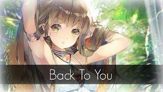 ⧔Nightcore⧕ → Back To You |Lyrics|