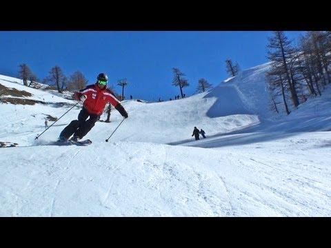 BARDONECCHIA esquí alpino / Descenso Alpes italianos / Ski Italy / Skiing Italian Alps / Italia HD