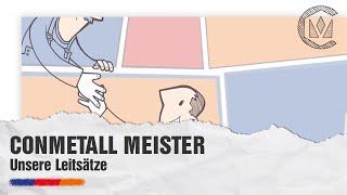 Unsere Leitsätze - Conmetall Meister GmbH