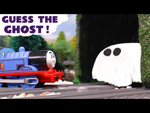 Thomas & Friends Guess The Ghost Play Doh Game with Funny Funlings and Superheroes TT4U