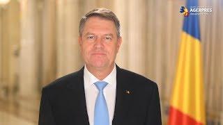 Iohannis: Uniţi şi solidari avem puterea de a construi o Românie mai bună