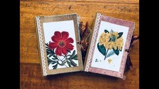 Twine Binding Hard Cover Handmade Journals | Etsy Restock