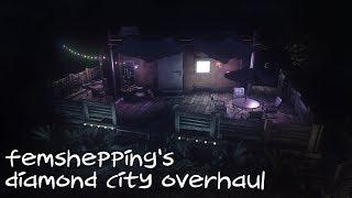 - mod comparison - fallout 4 - femshepping's diamond city overhaul
