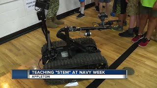 Navy Week: U.S. Bomb Squad and diving team teaches STEM importance in Appleton