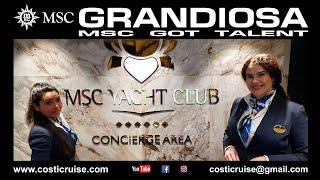 MSC GRANDIOSA VIRTUAL Tour YACHT CLUB