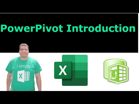 Excel Power Pivot Introduction - Learn Power Pivot & DAX - YouTube