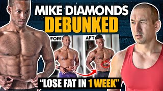 How To Lose Stubborn Fat In 1 WEEK? (Dr. Mike Diamonds DEBUNKED!)