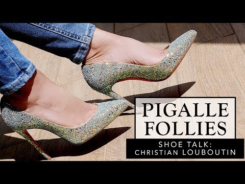 Shoe Talk: The Pigalle Follies Heel by Christian Louboutin | Sonal Maherali