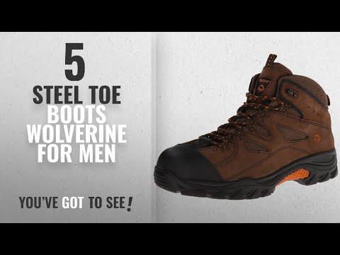 Top 10 Steel Toe Boots Wolverine [ Winter 2018 ]: Wolverine Men's W02194 Hudson Boot, Brown/Black,