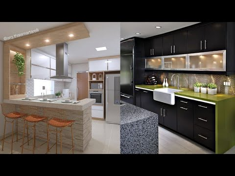 150 Small modular kitchen design ideas 2021 (Hashtag Decor)