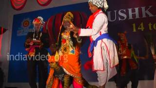 Tribal dance of Rajasthan