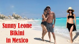 Sunny Leone In Bikini From Her Mexico Vacation