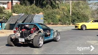The Corvette Kart Comes Home: The Vlog