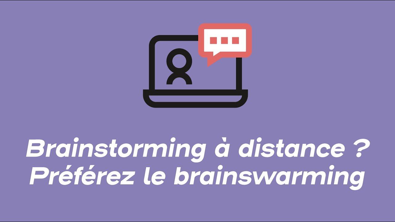 Brainstorming VS brainswarming ? | Webinars