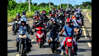 preview picture of video 'CONVOI MOTO SHOW LIBREVILLE 2014'