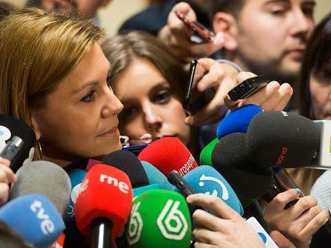 """Cospedal apuesta por un """"pacto a la española"""" entre los partidos que están de acuerdo en la unidad de España, la igualdad de los españoles y el empleo"""