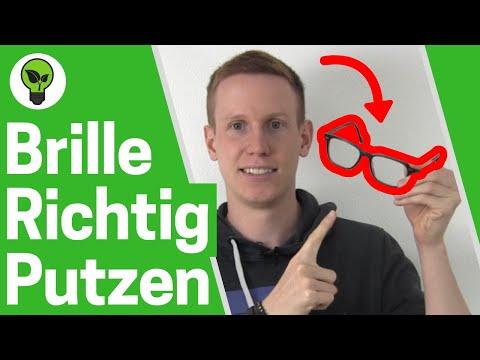 Brille Putzen OHNE Kratzer ✅ ULTIMATIVE ANLEITUNG: Wie Brille richtig Reinigen? 👉 Brillenreinigung!