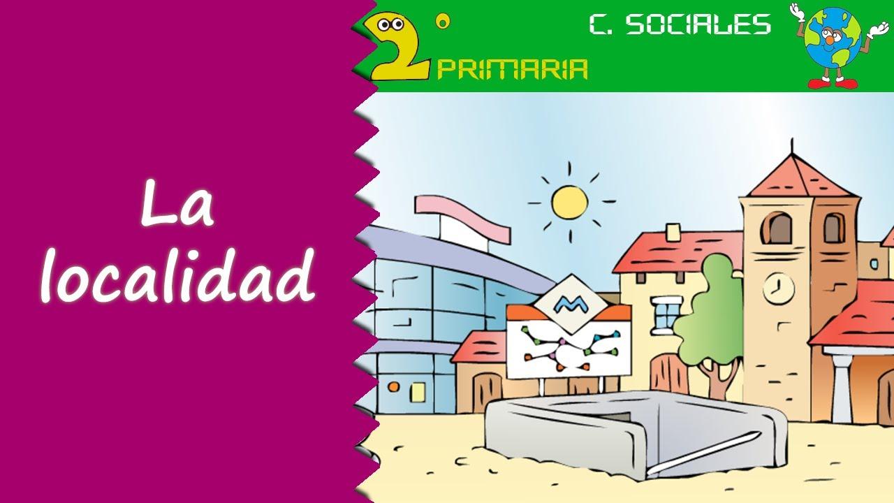 Ciencias Sociales. 2º Primaria. Tema 1. La localidad. Edificios, servicios y organización