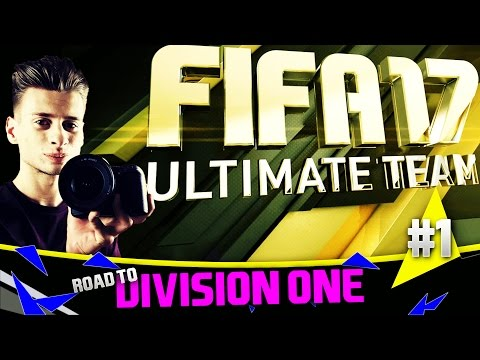 FIFA 17 Ultimate Team | Road To Division One | #1 | FACECAM!?!?