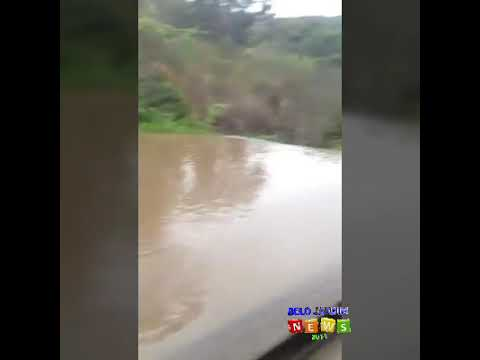 Água chegando na BARRAGEM BITURY em Belo Jardim