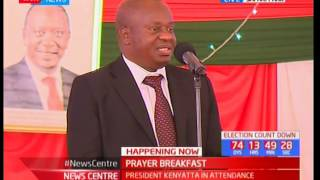 NATIONAL PRAYER BREAKFAST - 25th May 2017 - Tanzanian Speaker addresses Kenyans