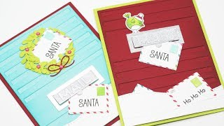 Creating 'Letters to Santa' Christmas Cards