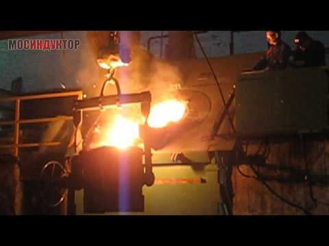 Индукционная плавильная печь ИПП-1000/1000Ч