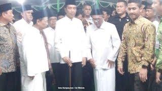 Presiden Jokowi Diberi Tongkat Gus Munif, Jokowi: Ada Maknanya, Tapi Tidak Boleh Disampaikan