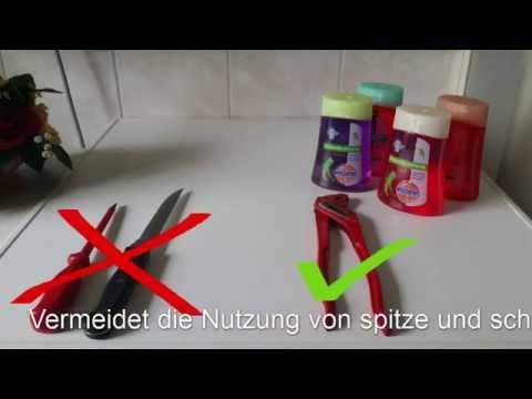 Sagrotan No Touch Seifenspender ohne viel Aufwand nachfüllen