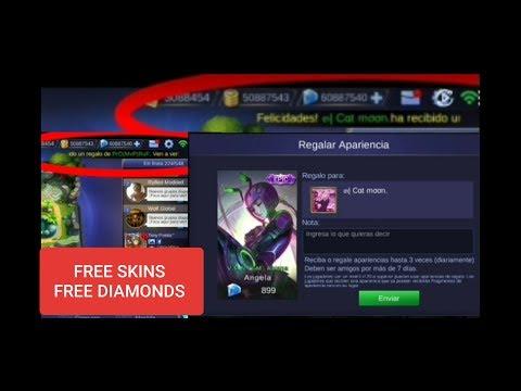 MOBILE LEGENDS | HACK DIAMONDS | HACK GOLD | SEND FREE SKINS 👇