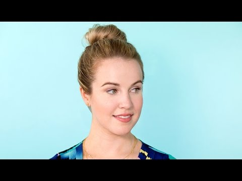 How to Get a Simple Ballerina Bun