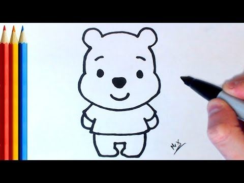 Download How to Draw Winnie the Pooh (Super Easy) - Step by Step Tutorial Mp4 HD Video and MP3