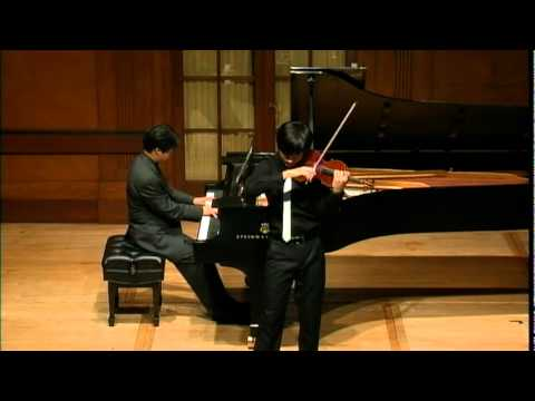 Sibelius Violin Concerto when I was 15 years old