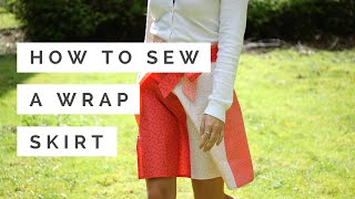 How To Sew A Wrap Skirt   Hobbycraft